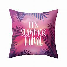 45x45cm decorative cushion covers plant letters throw