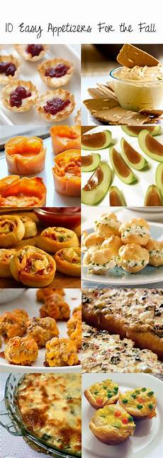 10 easy appetizers for the fall slide up