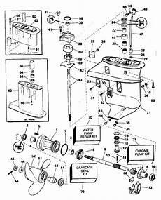 Johnson 1996 15 Bj15eleds Gearcase Parts Catalog