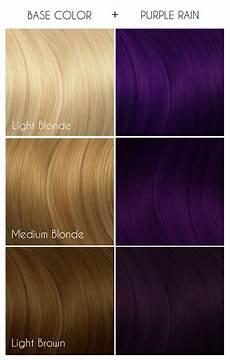 Arctic Fox Purple Rain On Light Brown Hair Purple Rain Arctic Fox Dye For A Cause