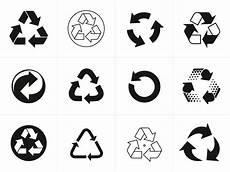 Recycling Symbols Recycling Symbol Vectors For Download Signs Amp Symbols