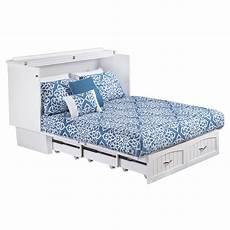 nantucket murphy bed chest white