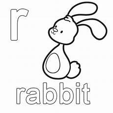 Malvorlagen Englisch Kostenlose Malvorlage Englisch Lernen Rabbit Zum Ausmalen