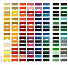 Ccp Gelcoat Color Chart Colour Charts Aquassure