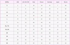 Women S Clothing Conversion Chart Clothing Size Conversion Chart Online Conversions