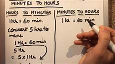 How To Keep Minutes How To Convert Hours To Minutes And Minutes To Hours