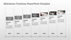 Timeline With Pictures Template Milestones Timeline Powerpoint Template Slidemodel