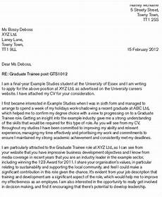 Graduate Covering Letter Examples 41 Application Letter Templates Format Doc Pdf Free