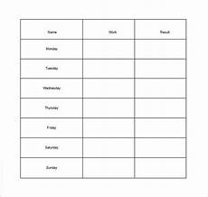 Blank Chore Chart For Adults How To Make Good Schedule Using 5 Chore List Template Types