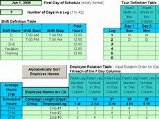 Rotating Shift Schedule Rotating Shift Schedules For Your People 5 12 Download