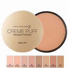 Max Factor Creme Puff Colour Chart Max Factor Creme Puff Powder Compact In Uae