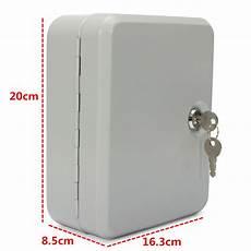 20 key hook cabinet storage wall mount organizer safe