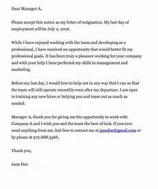 Resignation Letter Cover The Key To Writing A Resignation Letter Job Resignation