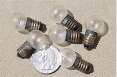 Tiny Light Bulbs Vintage Small Light Bulbs Lot Of 40 Assorted Tiny Old