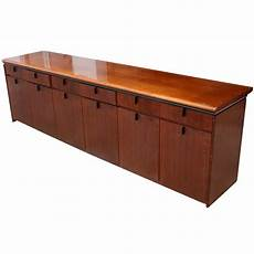 wooden credenza 9ft mid century modern wood credenza cabinet
