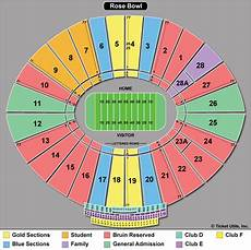 Rose Bowl Soccer Seating Chart Rose Bowl Tickets Theticketbucket Com