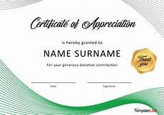 Free Certificates Of Appreciation Templates 30 Free Certificate Of Appreciation Templates And Letters
