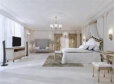 da letto lussuosa da letto lussuosa nei colori bianco in stile