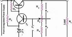 Transistor Configuration Comparison Chart Transistor Series Voltage Regulator Theory Electronics
