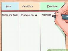 Make An Online List How To Make A To Do List 10 Steps With Pictures Wikihow