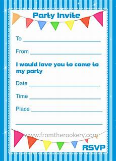 Birthday Invitation Card Maker Free Printable Birthday Invitations Printable