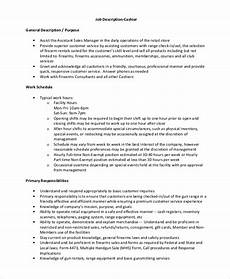 Retail Worker Job Description Free 8 Sample Retail Job Description Templates In Ms Word