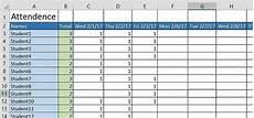 Attendance Maker 5 Attendance Sheet Templates Pdf Free Sample Templates