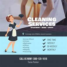 Cleaning Services Ads Cleaning Services Flyer Instagram Facebook Social Media