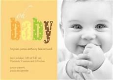 Baby Boy Birth Announcements Wording Fall Birth Announcement Wording Ideas From Purpletrail