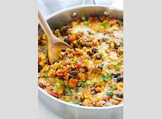 One Skillet Mexican Rice Casserole   Making Thyme for Health