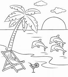 printable and dolphins coloring page for both
