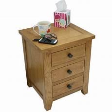 julian bowen marlborough 3 drawer bedside table furniture123