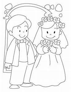 hochzeits ausmalbilder gratis wedding illustration