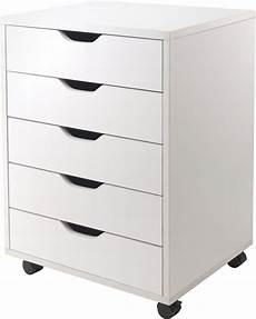 halifax white 5 drawer cabinet from winsomewood coleman