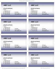 Business Card Template Word Free Download Business Card Templates For Word