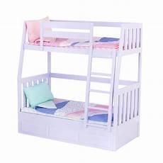 bunks lilac doll bunk bed furniture set