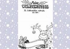 Ausmalbilder Weihnachten Wunschzettel Miriam Nowak Freebie Weihnachts Wunschzettel
