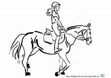Pferde Ausmalbilder Reiten Ausmalbilder Pferd Und Reiter Zum Ausdrucken Kostenlos