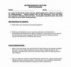 Auto Biography Outline Autobiography Essay Outline Example Writing