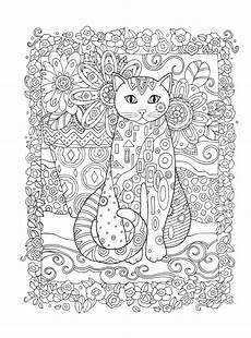 Ausmalbilder Erwachsene Katzen Pin Auf Mandalas F 252 R Erwachsene