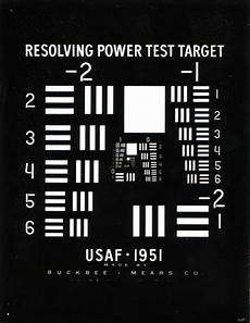 Usaf 1951 Chart 1951 Usaf Resolution Test Chart Wikipedia