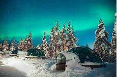Northern Lights Glass See The Northern Lights From A Glass Igloo At