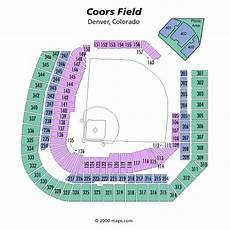Coors Field Detailed Seating Chart Rows Breakdown Of The Coors Field Seating Chart Colorado Rockies