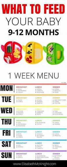 One Month Old Baby Feeding Chart 9 12 Month Baby Feeding Schedule Baby Food Schedule