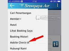 Mas Belitung: Mobile Check in Maskapai Penerbangan