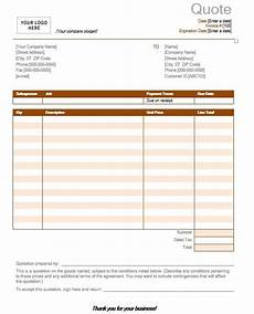 Free Catering Quote Template 9 Free Sample Catering Quotation Templates Printable Samples