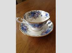 Royal Albert Bone China Moonlight Rose Teacup and Saucer