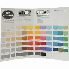 Savage Paper Chart Savage Color Chart For Background Paper 99992222 68 B Amp H Photo