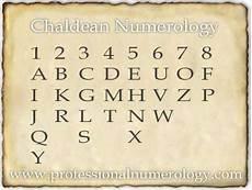 Chaldean Numerology Chart Numerology Chart Numerology Compatibility