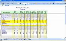 How To Make A Budget Sheet On Excel How To Make A Monthly Budget Spreadsheet Spreadsheets
